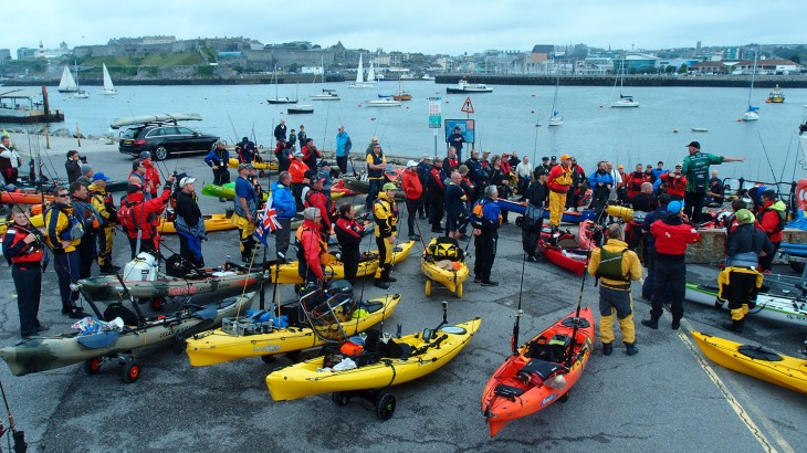 Ocean Kayak Classic 2015 In Plymouth Sound Bluezone Fishing