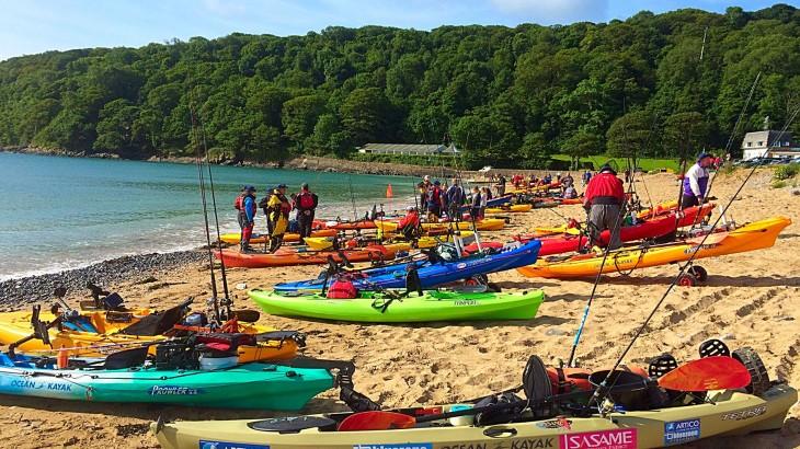Oxwich Bay Kayak Fishing Competition 2015 Bluezone Fishing
